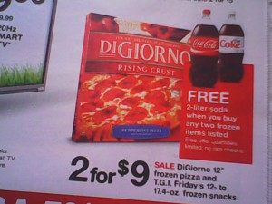 IMG 20140126 134443 300x225 3 DiGiorno Pizzas and a 2 Liter Soda for $9!