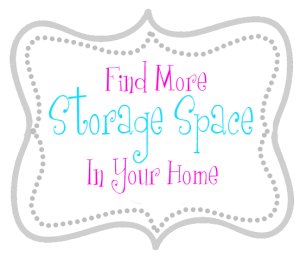 More Storage Space