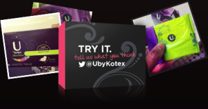 U by kotex samples
