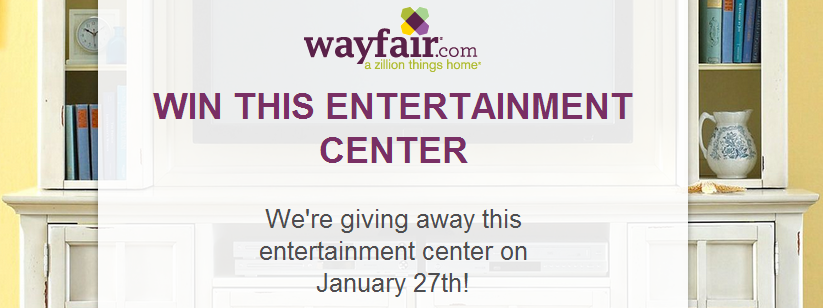 Wayfair sweepstakes