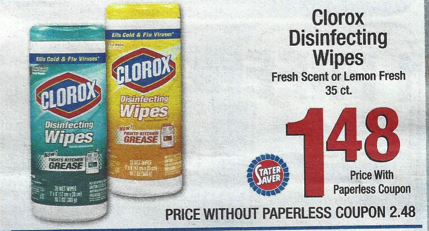 clorox wipes coupon 0 73 clorox wipes at stater bros Clorox Wipes Coupon | $0.73 Clorox Wipes at Stater Bros.