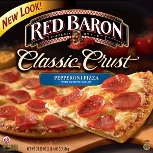 NEW $3/3 Red Baron Pizza Coupon… as low as $2 each at Target!