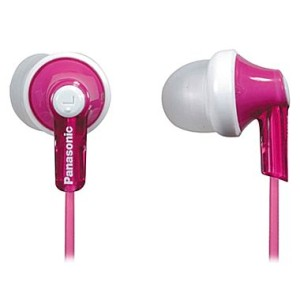panasonic headphones 300x300 Panasonic In Ear Headphones $5.49