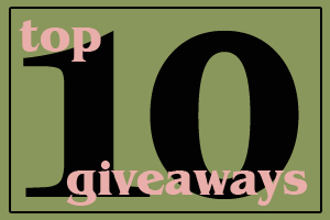 top 10 giveaways 11114 Top 10 Giveaways, 1/11/14