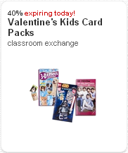 Kids card packs