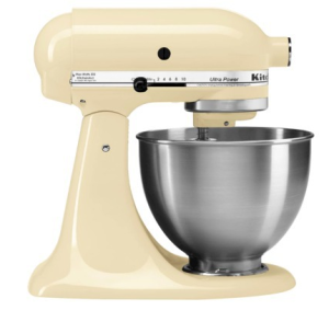 KitchenAid Almond Creme 300x283 KitchenAid Ultra Power 4.5 Qt Mixer in Almond Creme Just $199.99 (Save $100!)