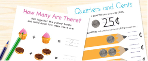 FREE Math Printables From Snapfish (Preschool – 3rd Grade)