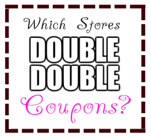 Which Stores Double Coupons