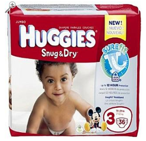FREE Huggies Snug & Dry Diapers After TopCashBack Cash Back!