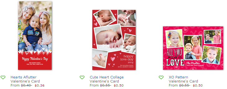 shutterfly vday cards