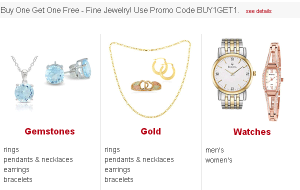 BOGO jewelry 300x190 BOGO Free...Diamonds?? (Fine Jewelry and Watches)