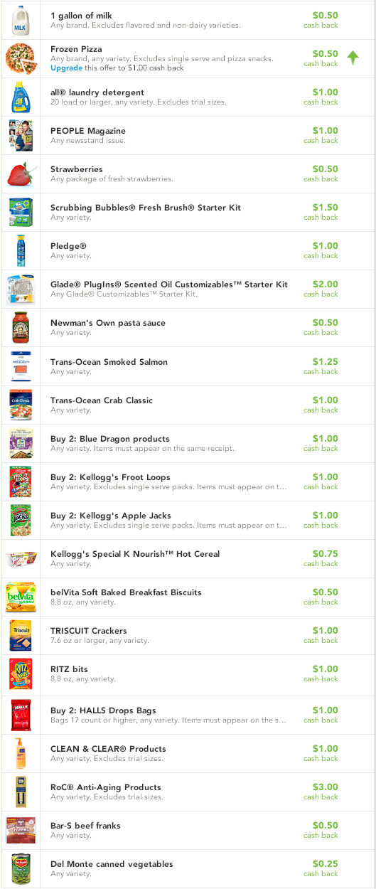 Check51 March 13 NEW Checkout 51 Offers: Frozen Pizza, Strawberries, Pledge, and More!