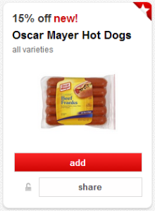 Oscar Mayer Hot Dogs Just $1.40 Each!