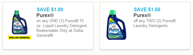 Purex 75 oz Laundry Detergent Just $1.20 Each After Stacked Coupons!