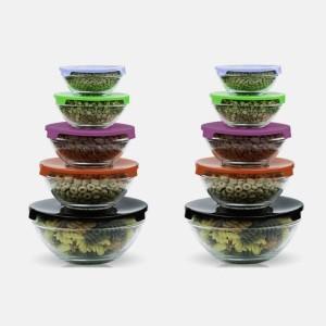 Tanga bowls and lids