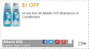 VO5 coupon