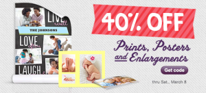 Walgreens 40 Off 300x136 40% Walgreens Prints, Posters, and Enlargements