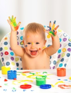 baby-painting