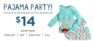 gymboree pajama party