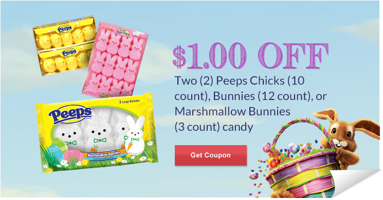 rite aid peeps $1 Off Peeps at Rite Aid   $.50 per 10 pack! (HURRY!)