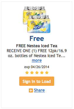 FREkroger free nestea Kroger Friday Freebie: 12 pack of Nestea!