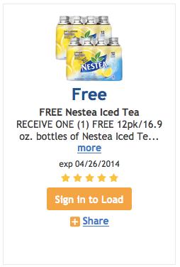 FREkroger free nestea
