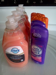 $26.66 Worth of Deodorant, Dish Soap, and Mouthwash for $.66 at CVS!