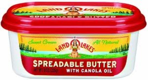 LOL Butter 300x164 FREE Land O Lakes Tub Butter Spread Product With Rebate!