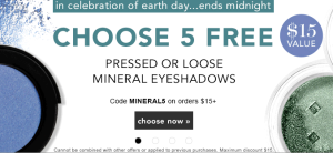 elf earth day flash sale