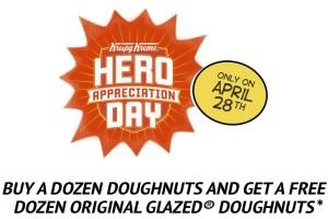 Krispy Kreme: Buy a Dozen Doughnuts, Get a Dozen Free!
