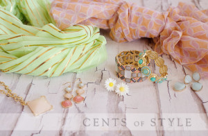 mint and peach 300x196 Fashion Friday: 50% Off Mint and Peach Accessories (Other Colors Available Too!)