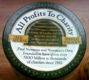 newmans own sauce charity