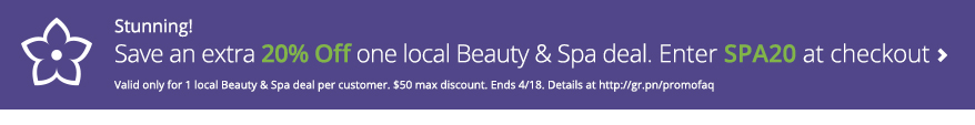 spa deal groupon
