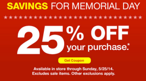 25 Off CVS Email Coupon 300x167 Check Your Email for 25% Off CVS Coupon!