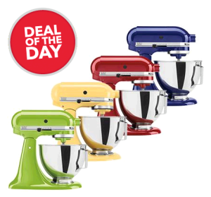 KitchenAid Stand Mixer Just $209.99!