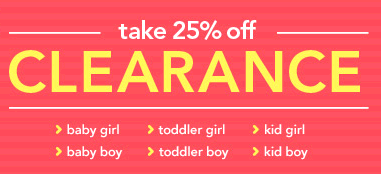 Carters Clearance Event