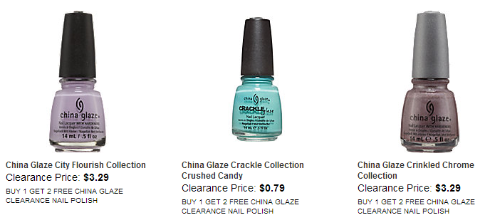 China Glaze Clearance b1g2 Free