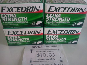 Coupons Have RESET For FREE Excedrin at CVS!