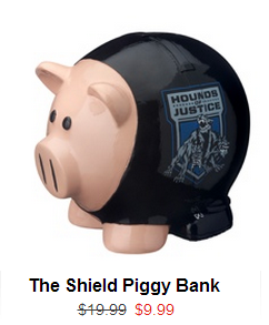 The Shield Piggy Bank