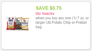 Utz Coupon