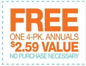 free four pack annuals