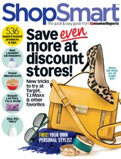 shopsmartoct2013 ShopSmart Magazine   $14.96 For One Year 6 issue Subscription!