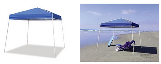 10x10 Instant Canopy 10x10 Z Shade Instant Canopy Just $46.99 Today ONLY!