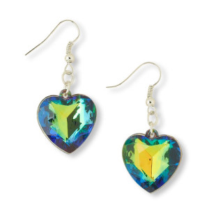 Dangly Heart Earrings 1