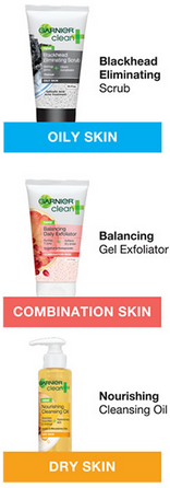 FREE Garnier Clean Sample FREE Sample of Garnier Cleanser!