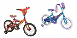 Huffy Iron Man 3 or Little Mermaid 16″ Bike just $49.99!