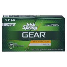 Irish Spring Gear Bar Soap