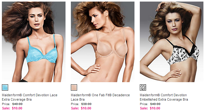 Maidenform Clearance bras $10 Bra Clearance From Maidenform!