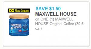 Maxwell House DG