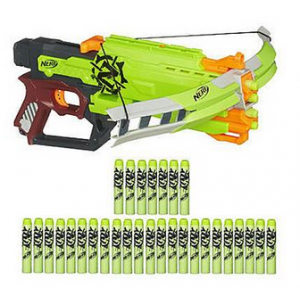 Nerf Zombie Strike Crossfire Bow + Refill Pack Just $15.49! (Save 50%)